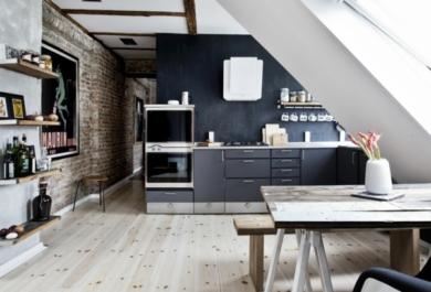 Küche Auf Dem Dachboden U2013 Unentbehrlich Im Alltag Und Super Praktisch  Gestaltet   Trendomat.com