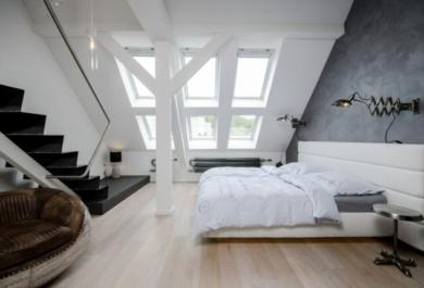 Schlafzimmer Dachboden   Schlafzimmer Auf Dem Dachboden Kann Ausserst Gemutlich Und