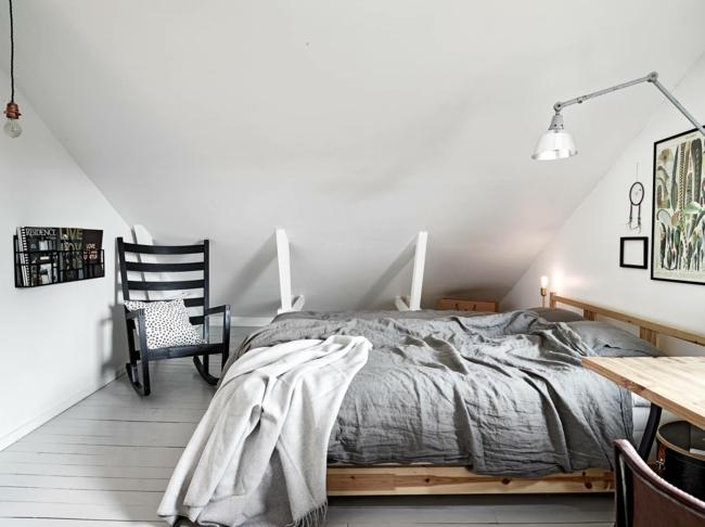 Schlafzimmer auf dem dachboden kann u erst gem tlich und - Dachboden schlafzimmer ...