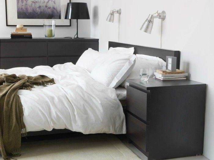 elegante Schlafzimmermöbel Ikea