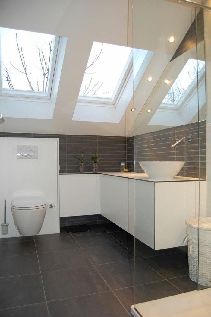 badezimmer auf dem dachboden – viel ruhe mit einer prise luxus, Hause ideen