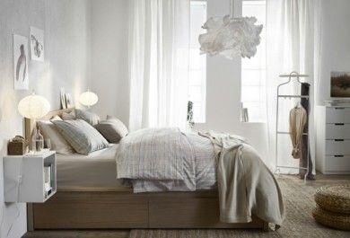 Ikea Schlafzimmer - pure Entspannung und Schlafkomfort werden hier ...