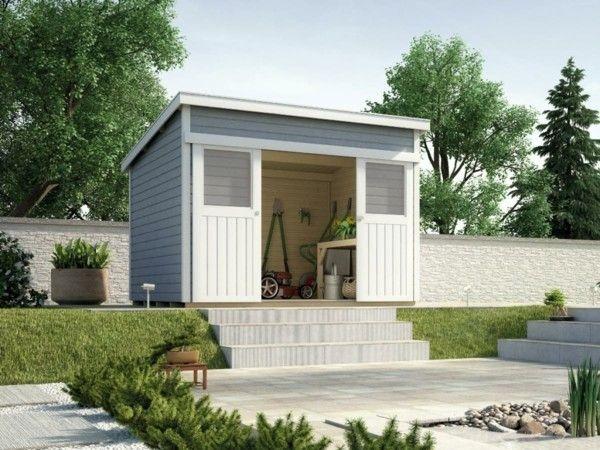gartenhaus das absolute multitalent im gr nen. Black Bedroom Furniture Sets. Home Design Ideas