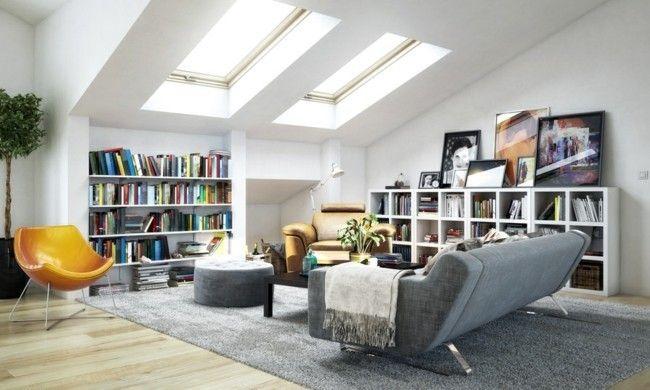 Ein Modernes Wohnzimmer ...