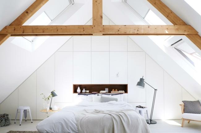 Ein Geräumiges Schlafzimmer ...