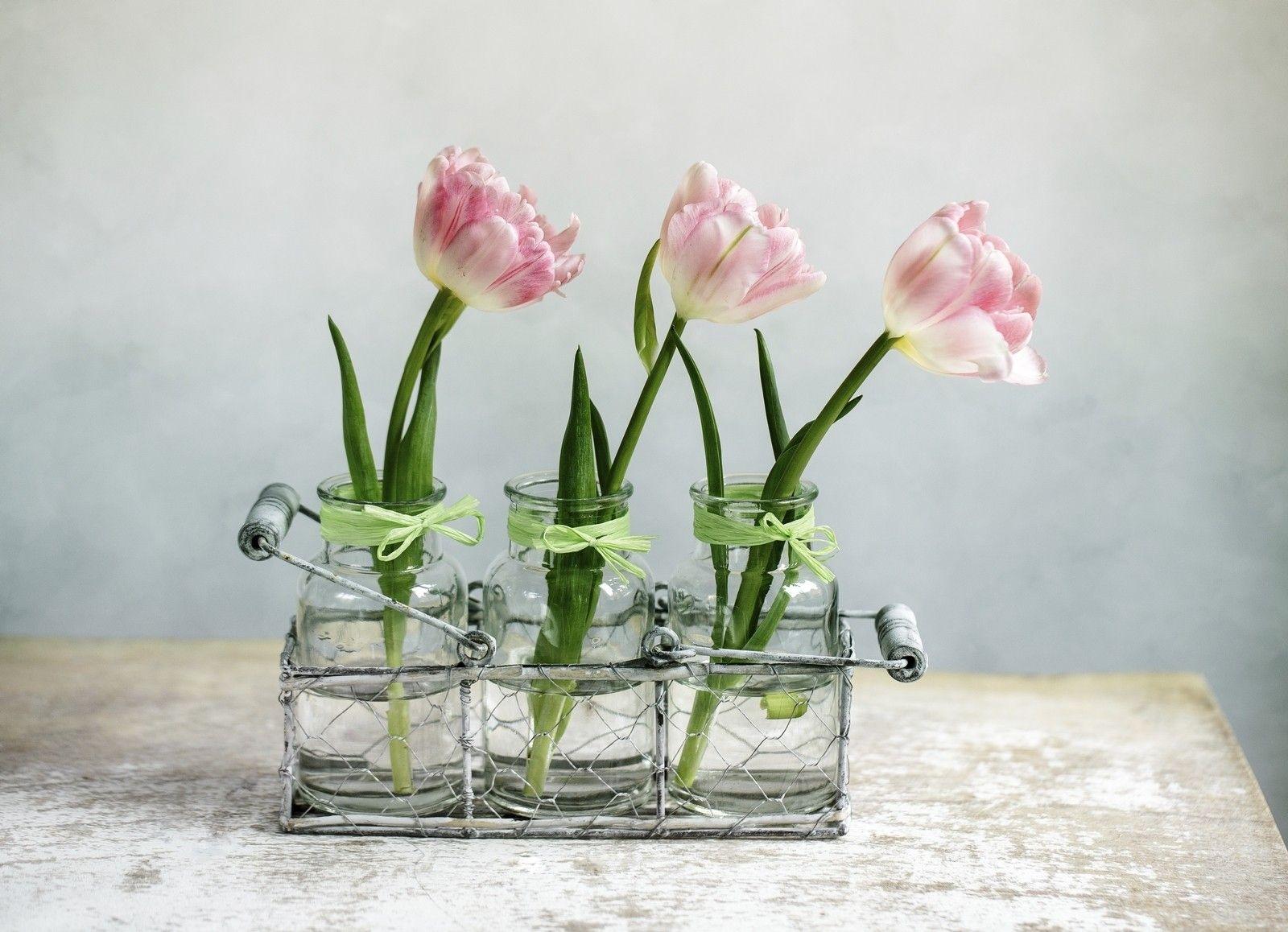 Deko mit tulpen laden sie den fr hling ins haus ein Ideen deko