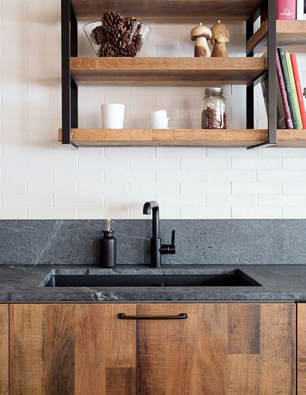 Sind Sie des Granits in der Küche überdrüssig? Dann versuchen Sie es ...