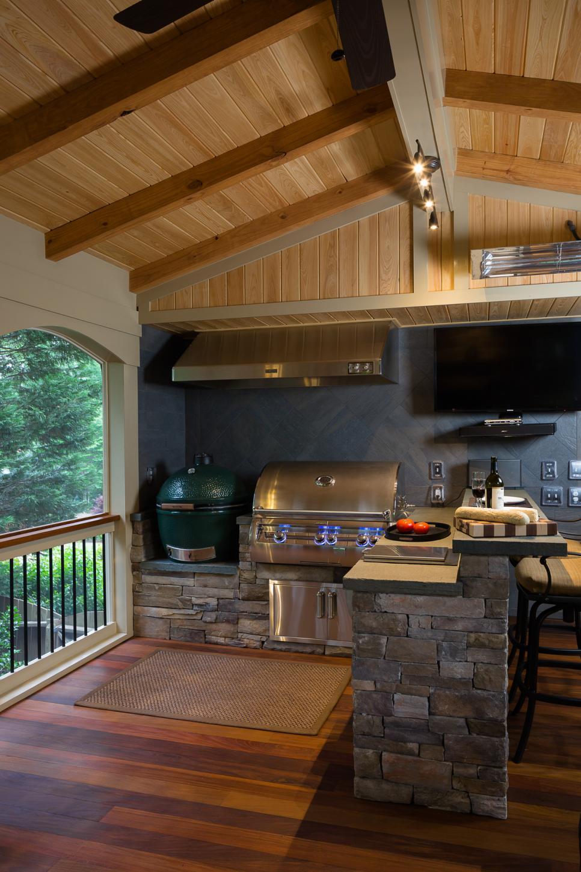 Trendige Ideen Für Die Outdoor Küche Im Garten