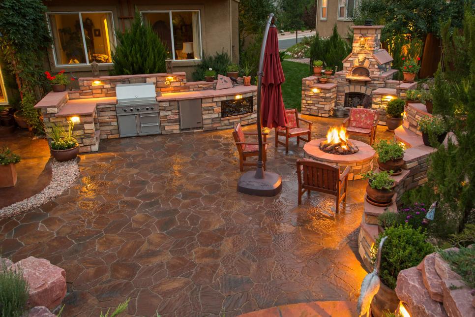 Outdoor Küche Beleuchtung : Trendige ideen für die outdoor küche im garten trendomat