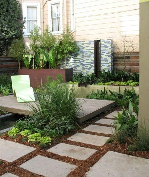 Ideen Für Kleinen Garten - Mit Ein Paar Gestaltungstricks Können ... Dekoideen Fur Kleinen Garten Platz Ausnutzen