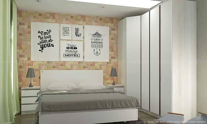 Moderne schlafzimmer einrichtung tendenzen  Kleines Schlafzimmer einrichten – Ideen im Einklang mit den neusten ...