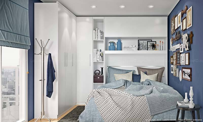 kleines schlafzimmer einrichten ideen im einklang mit den neusten trends 2017. Black Bedroom Furniture Sets. Home Design Ideas
