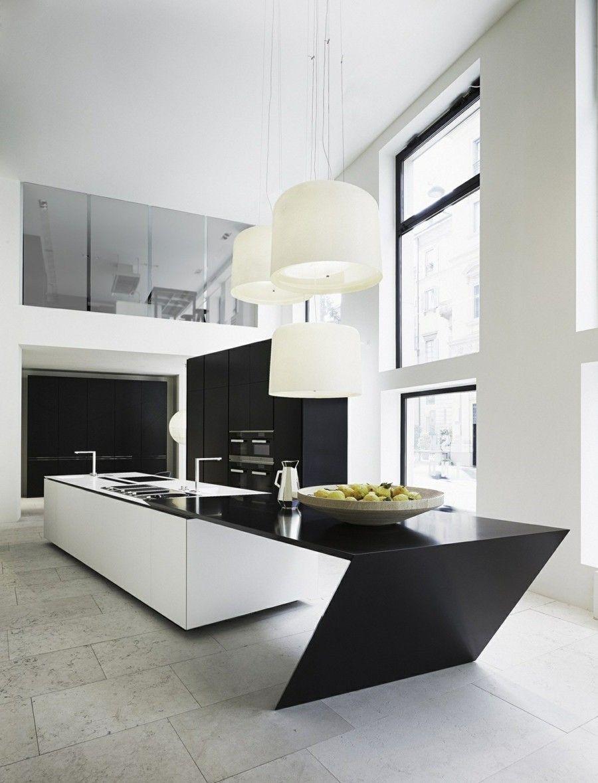 wohnung einrichten geometrische asthetik funktionell, küche mit modernen geometrischen formen einrichten - trendomat, Design ideen