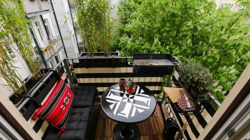 2017 balkongestaltung tipps und tricks den balkon. Black Bedroom Furniture Sets. Home Design Ideas