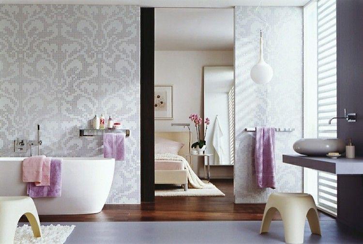 badfliesen – aktuelle trends 2017 in bildern und ideen für moderne, Badezimmer gestaltung