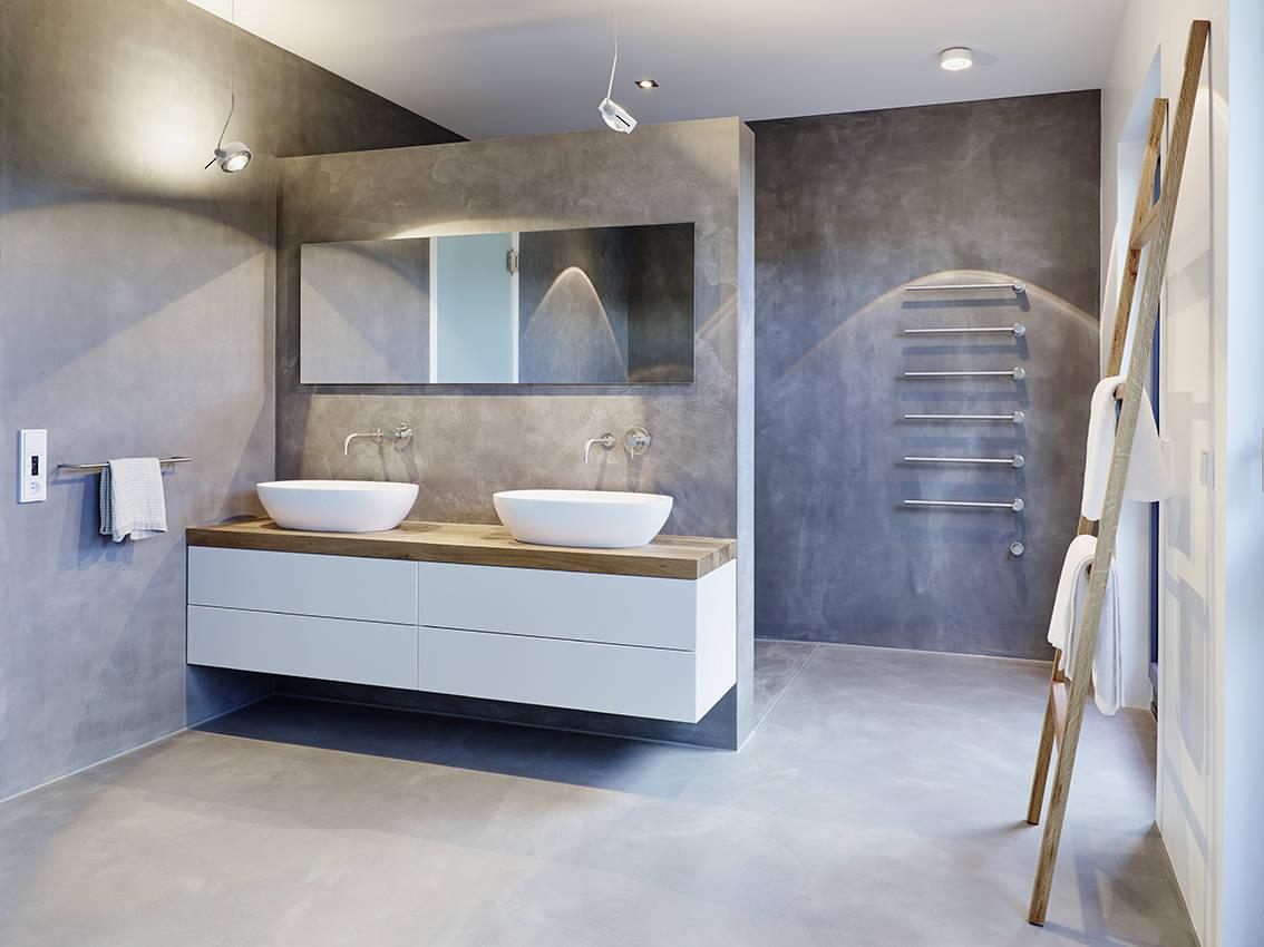 Ideen badezimmergestaltung  Badfliesen – aktuelle Trends 2017 in Bildern und Ideen für moderne ...