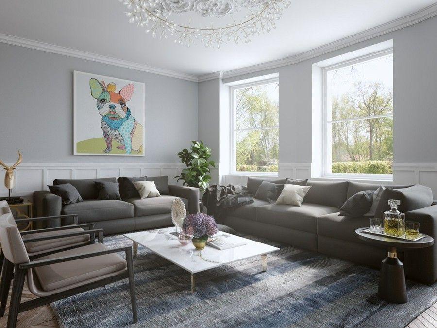 2017 Wohnzimmereinrichtung Farben