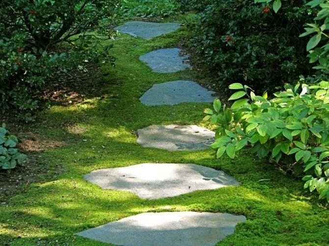 Relativ Gartenwege stilvoll anlegen und viel Ästhetik draußen bewundern RY34