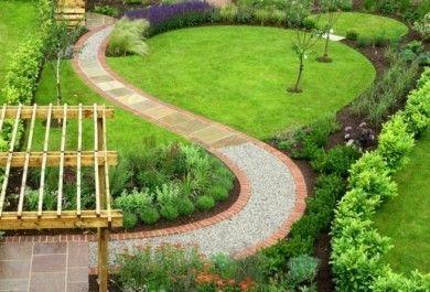 Gartenwege stilvoll anlegen und viel Ästhetik draußen bewundern ...