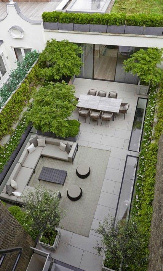 Moderne Terrassengestaltung – clevere Ideen diese in einigen ...