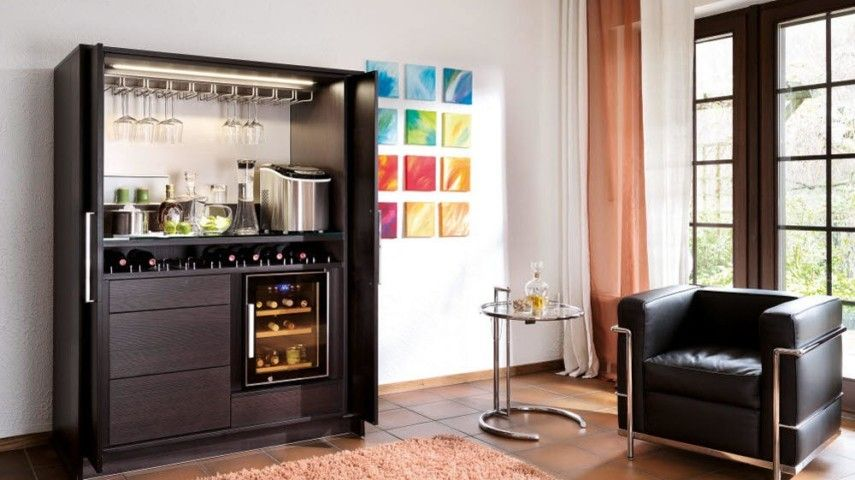 inspirationen zur gestaltung der hausbar. Black Bedroom Furniture Sets. Home Design Ideas