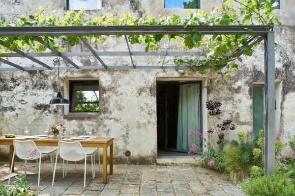 Terrassengestaltung im Landhausstil - bringen Sie ein ...