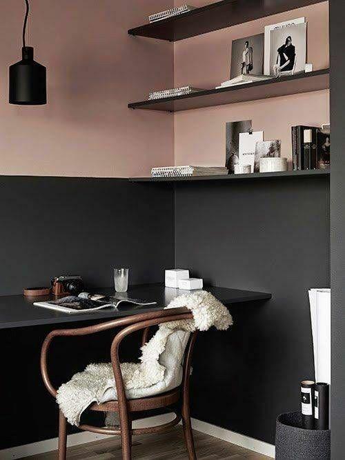 Schwarz sehr trendy mit Rose Gold perfekter Farbmix warme kalte Farben ...