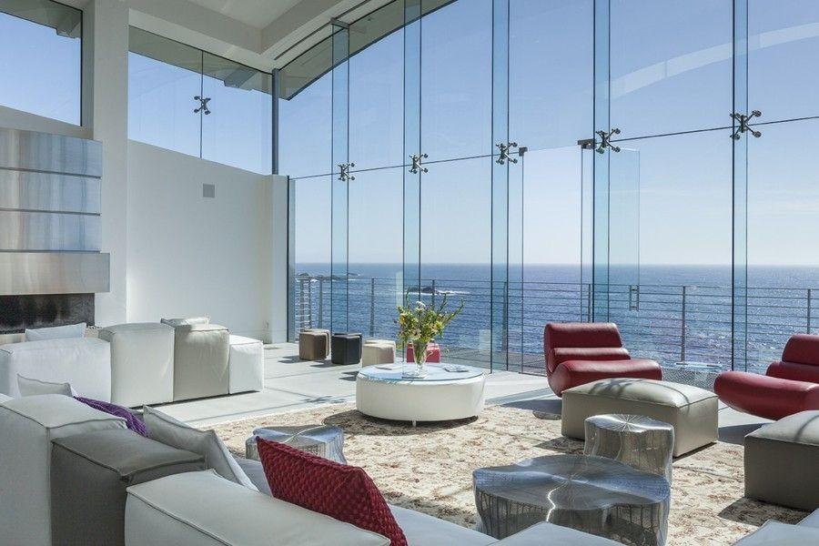 wohnzimmereinrichtung mit hohen decken sorgt f r luxusgef hl. Black Bedroom Furniture Sets. Home Design Ideas