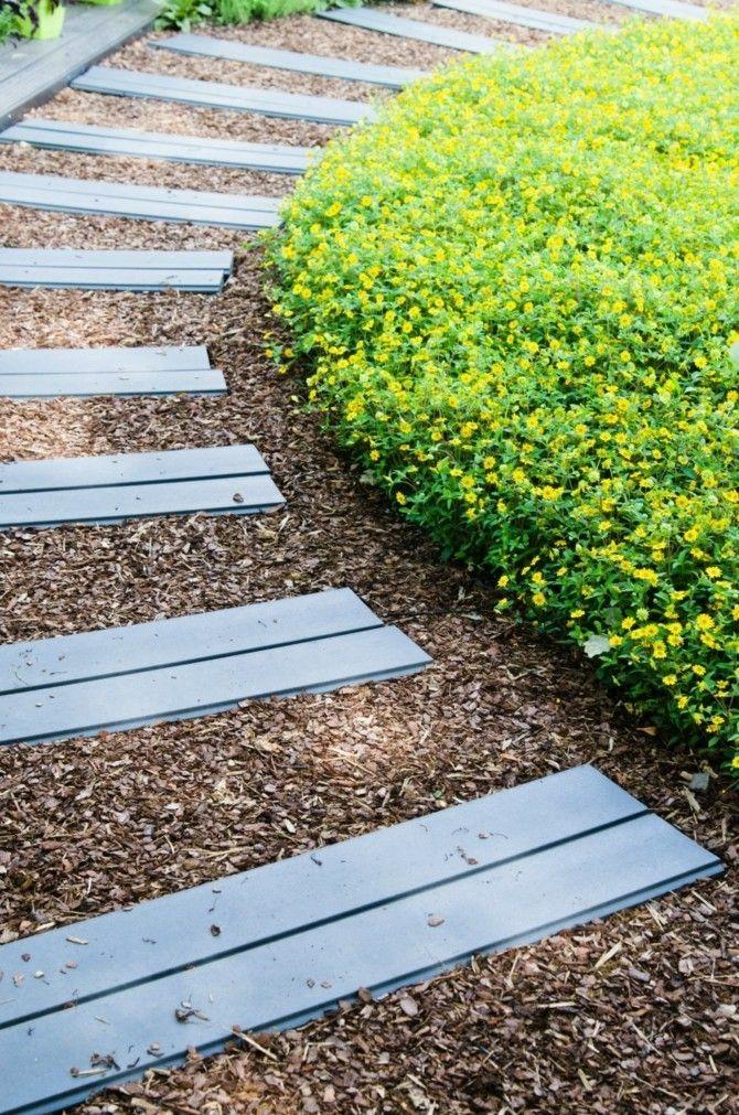 Gartenwege stilvoll anlegen und viel sthetik drau en - Gartenwege gestaltungsideen ...