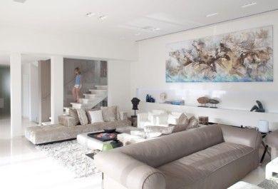 Kunst in der Wohnzimmereinrichtung - Trendomat.com