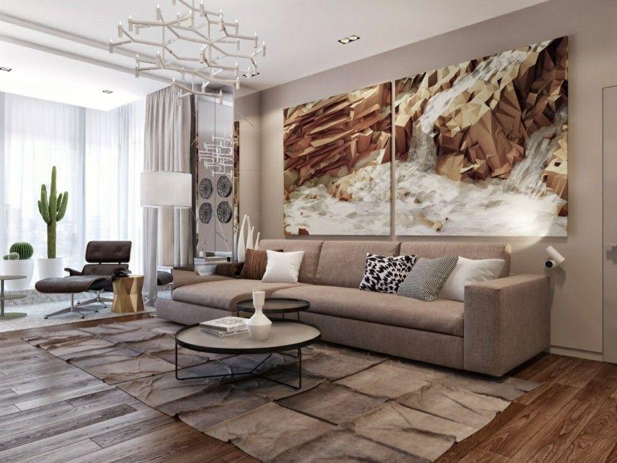 Kunst in der wohnzimmereinrichtung for Wohnzimmereinrichtung komplett