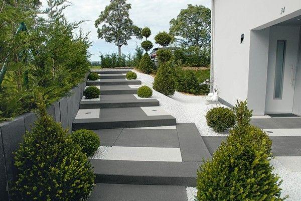 Vorgarten gestaltungsideen clevere und praktische tipps for Vorgarten minimalistisch
