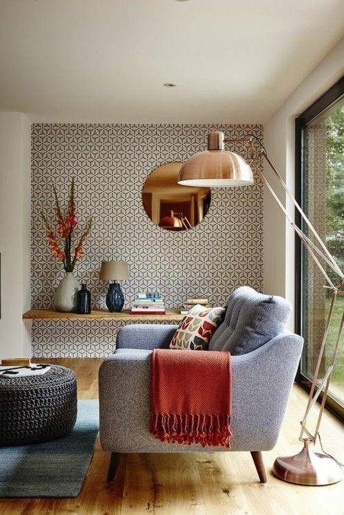 privatwohnung mit eklektischem interieur in warmen farben ...