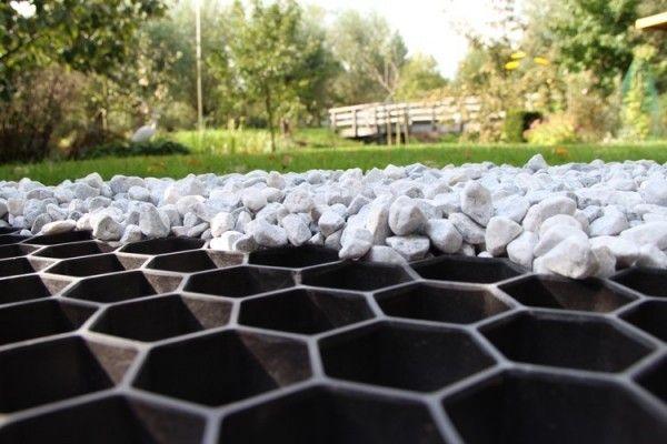 Zierkies und splitt f r eine innovative und moderne for Gartengestaltung unterschiedliche hohen