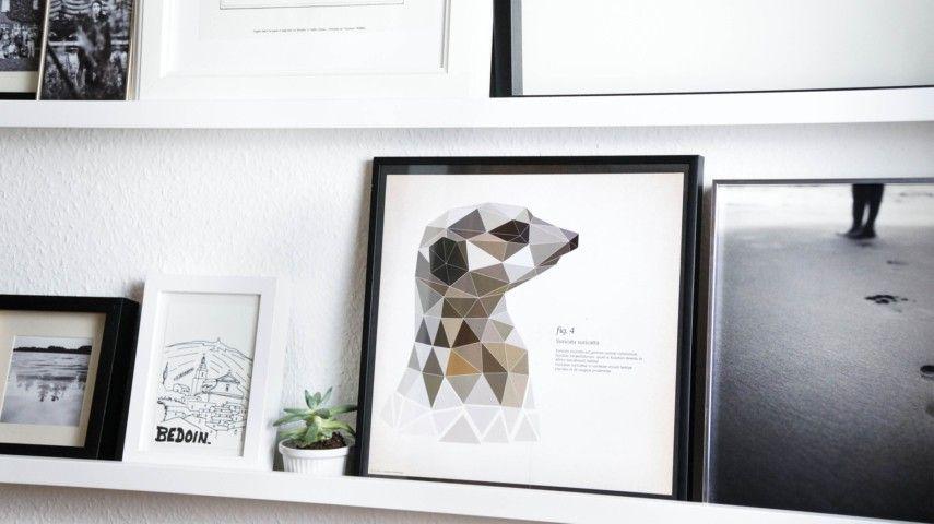 kreative fotowand gestalten setzen sie ihre besten fotos in szene. Black Bedroom Furniture Sets. Home Design Ideas