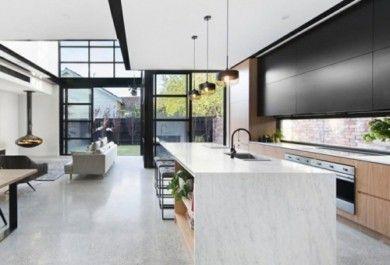 Ideen für Betonboden oder clevere Alternative zur üblichen ...