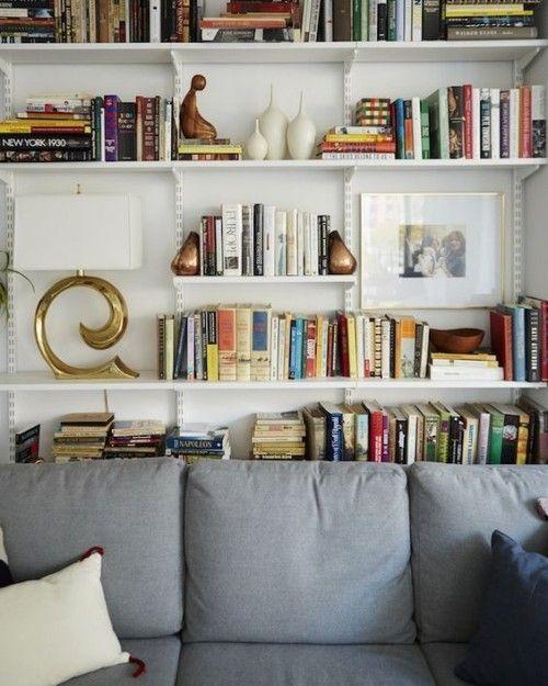 Oder Ziehen Sie Lieber Ein Klassisches Regal Hinter Sofa ...