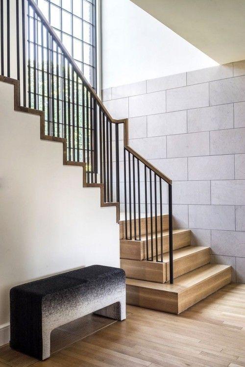 moderne treppen vereinen schlichtheit und eleganz im design. Black Bedroom Furniture Sets. Home Design Ideas