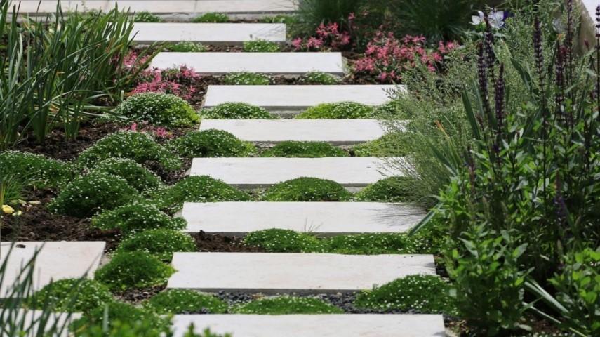 Wer Heute Auf Dem Lande Wohnt, Ist Ein Glückpilz! Er Hat Dort Einen Garten  Neben Dem Haus, Viel Grün Und Bunte Blumen In Jeder Jahreszeit.