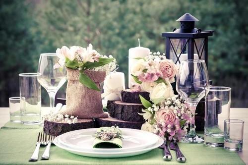 Tischdekoration Fur Die Hochzeit Bietet Viel Gestaltungsspielraum