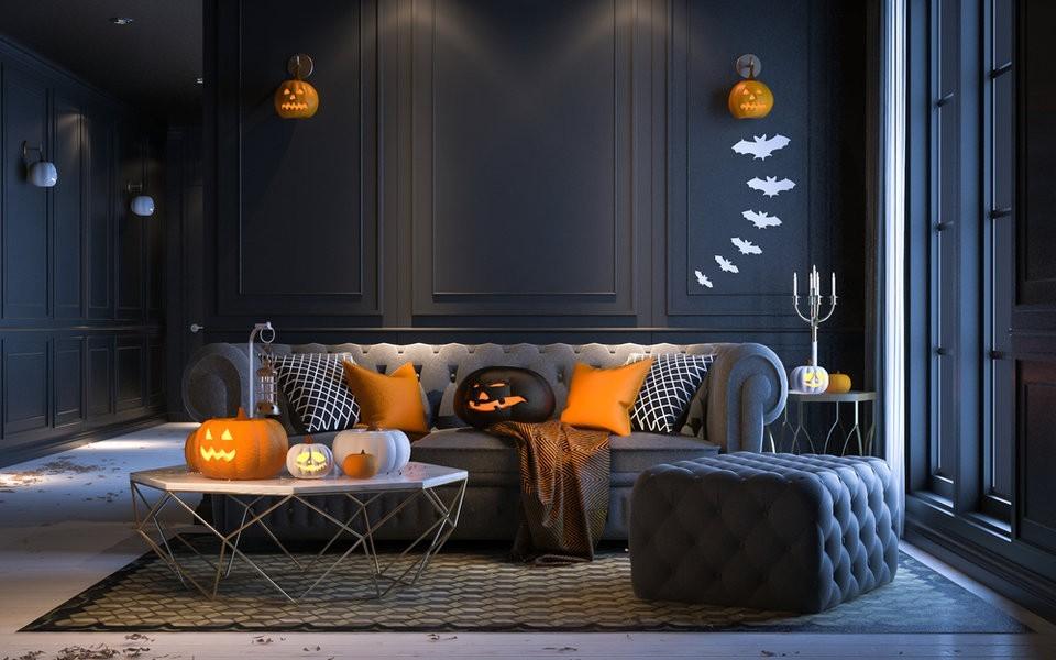 33 Last-Minute Halloween Deko Ideen für draußen vor der Haustür ...