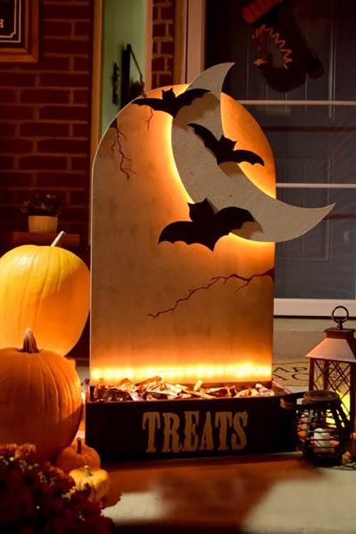 33 Last Minute Halloween Deko Ideen Fur Draussen Vor Der Haustur Trendomat Com