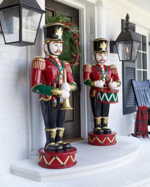 Weihnachtsdeko Hauseingang Tipps F 252 R Stimmungsvolle