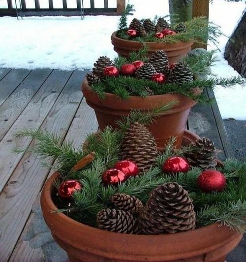 Weihnachtsdeko hauseingang tipps f r stimmungsvolle - Haustur dekorieren ...