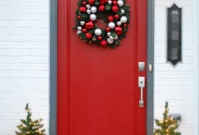 Weihnachtsdeko An Der Haustür.Weihnachtsdeko Hauseingang Tipps Für Stimmungsvolle Dekoration Vor