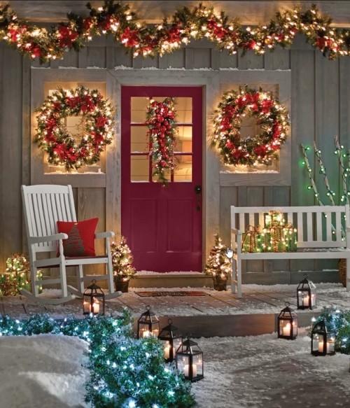 Weihnachtsdeko Hauseingang – Tipps für stimmungsvolle ...