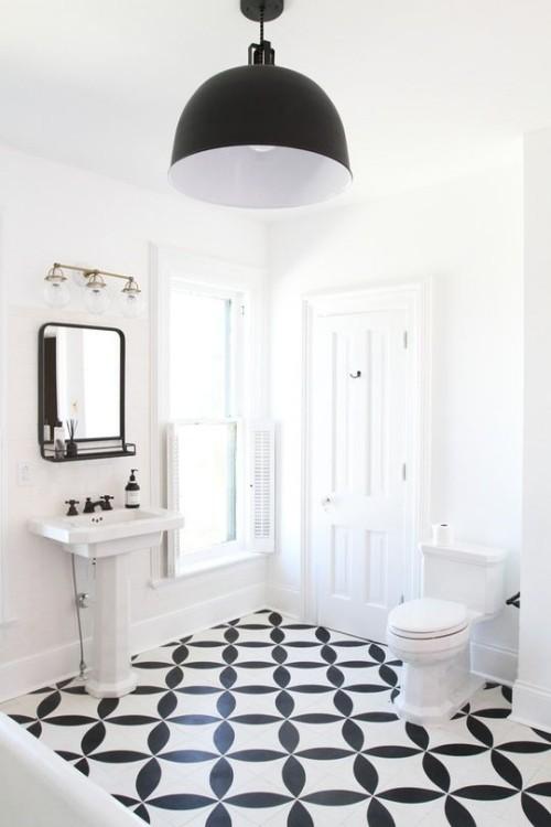Badezimmer im vintage und retrostil - Piastrelle bagno vintage ...