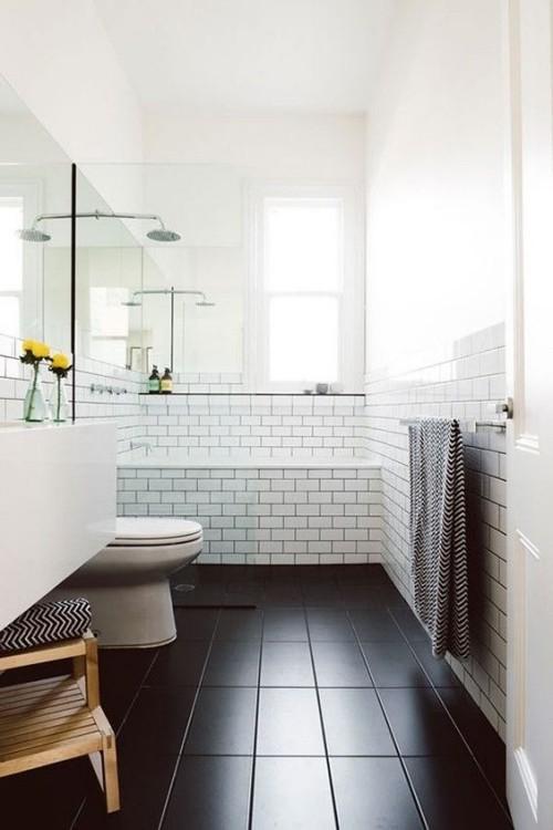 badezimmer im vintage und retrostil. Black Bedroom Furniture Sets. Home Design Ideas