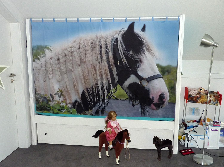 edruckte Vorhänge für Kinderzimmer,