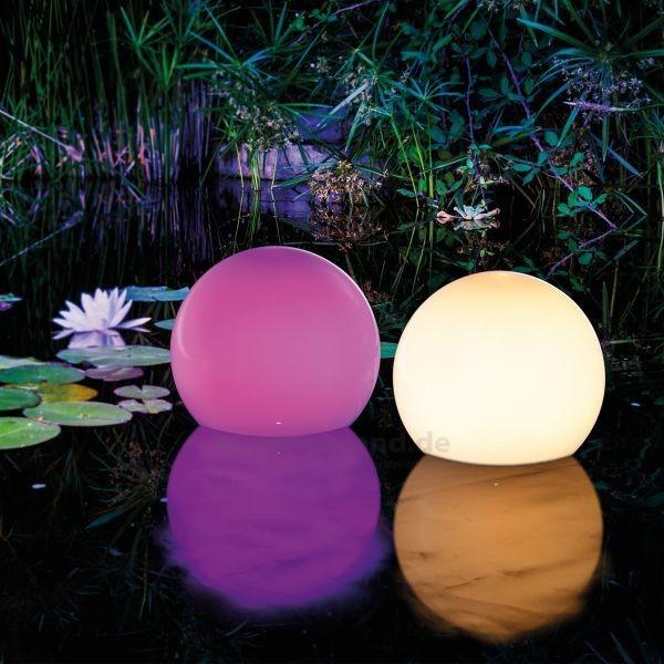 Solar Leuchtkugeln setzen Trend für den Gartenteich auf der Wasseroberfläche starke dekorative Effekte